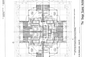 TCH CONSULTING GROUP_Luxury High Rise Floor Plan Blueprint